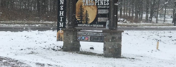 Tall Pines Distillery is one of Ski trips.