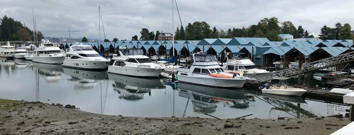 Royal Vancouver Yacht Club is one of Saturday.