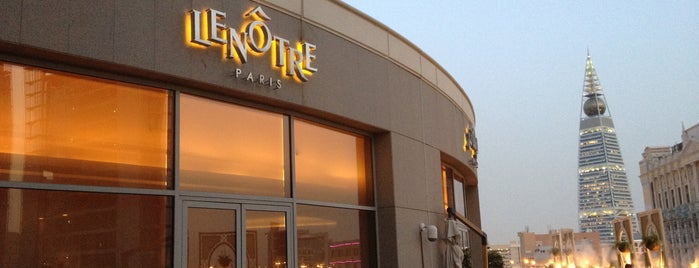 Lenôtre is one of Riyadh's Cafés and Restaurants.