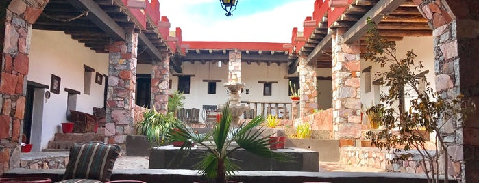 Hotel Ruinas Del Real is one of Orte, die Alonso gefallen.