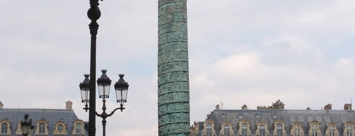 Place Vendôme is one of Bonjour Paris.