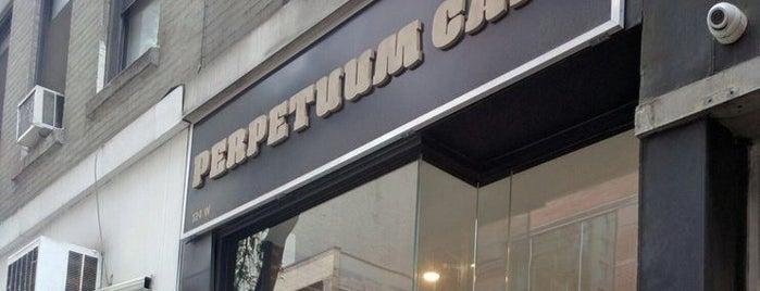Perpetuum Cafe is one of NYC Tea.