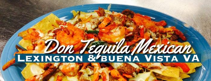 Don Tequila's is one of Lexington VA.