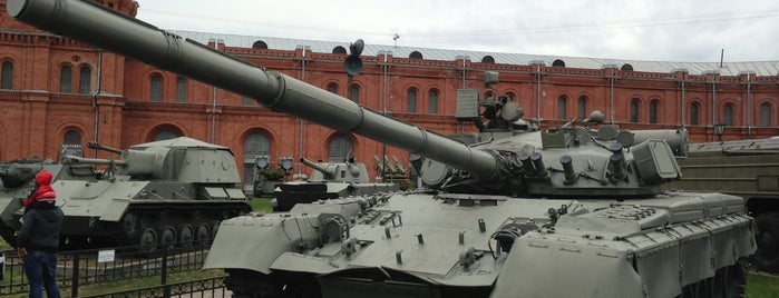 Museum of Artillery, Engineers and Signal Corps is one of Познавательный Петербург.