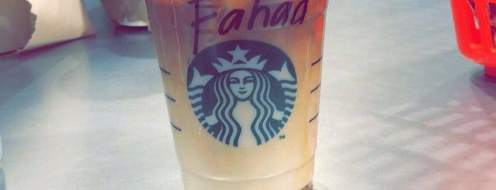 Starbucks is one of RAW 님이 좋아한 장소.