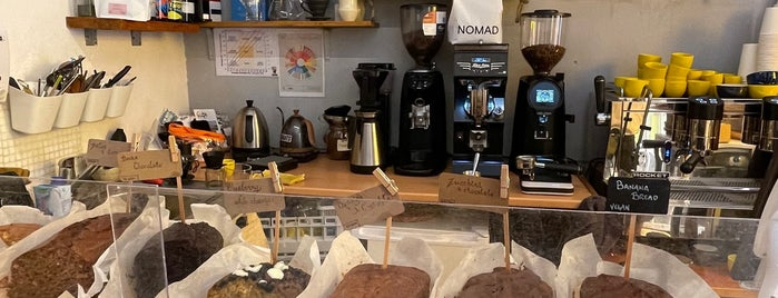 Mia coffee shop is one of Malaga.