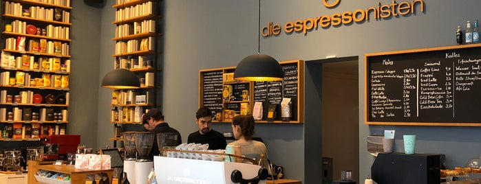 Die Espressonisten is one of Coffee spots Berlin.