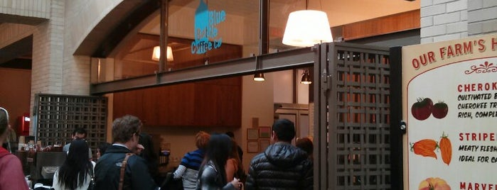 Blue Bottle Coffee is one of Coffee worth travelling for.