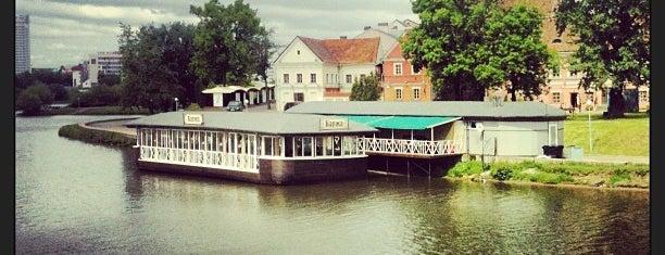 Мост через Свислочь is one of Orte, die Антон gefallen.