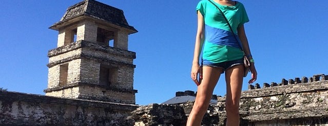 Palacio Maya de Palenque is one of Tempat yang Disukai Gabriel.