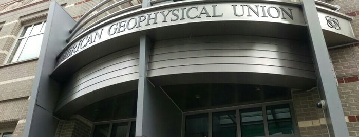 American Geophysical Union is one of 111 Places Tips.