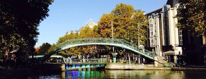 Canal Saint-Martin is one of Paris.