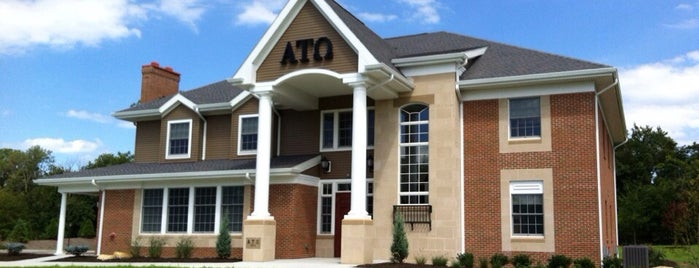 Alpha Tau Omega Fraternity at Widener is one of ouro.