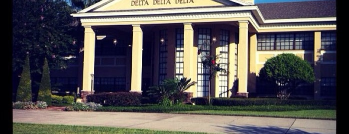Delta Delta Delta is one of My favorites.