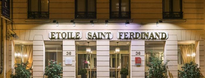Hôtel Étoile Saint-Ferdinand is one of Locais salvos de Frances.
