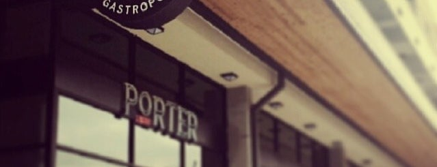Porter Ale House & Gastropub is one of The World Outside of NYC and London.