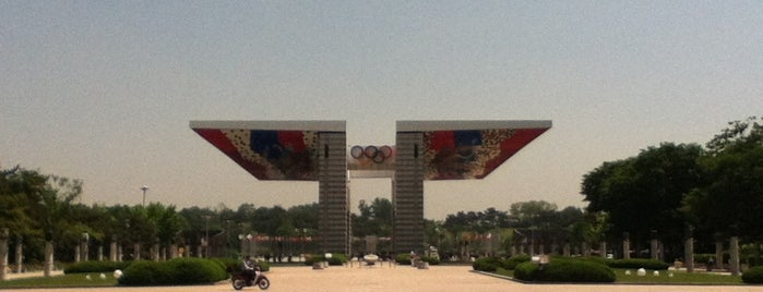 Olympic Park is one of South Korea.