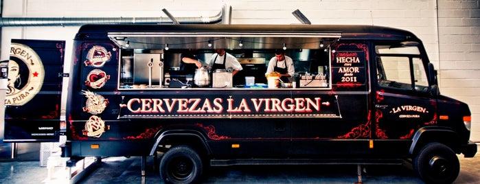 Cervezas La Virgen is one of Rotulados por rotulacionamano.com.
