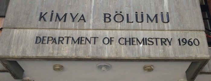 Kimya Bölümü is one of Best Of Middle East Technical University.