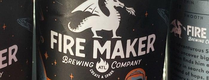 Fire Maker Brewing Company is one of Tempat yang Disukai Phil.