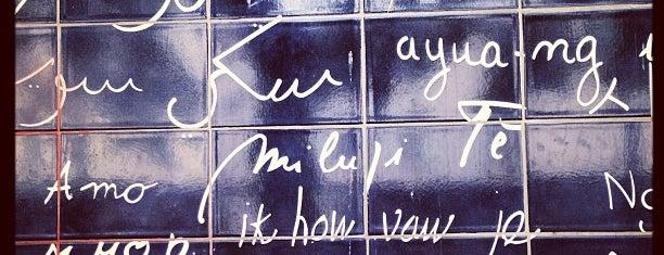 """Die Mauer der """"Ich liebe dich"""" is one of My Paris."""