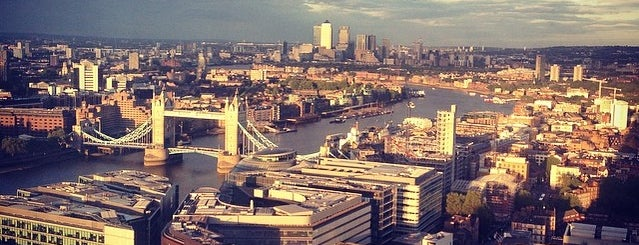 Oblix at The Shard is one of Breathtaking Views of London.