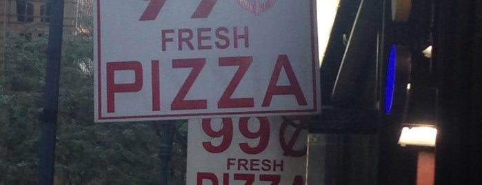 99 Cents Fresh Pizza is one of Cheap Eats.