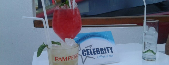 Celebrity cafe is one of rhodos.