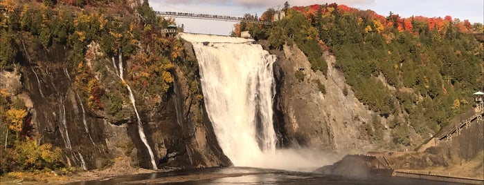 Montmorency Falls is one of Quebec.