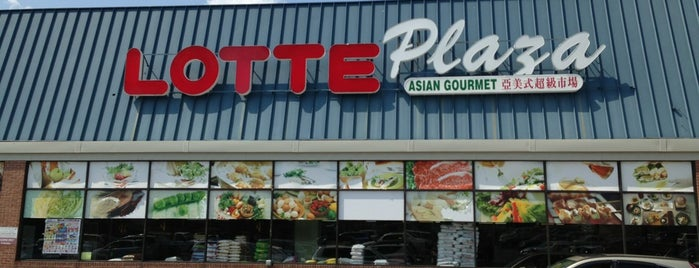 Lotte Plaza Market Grocery Store is one of Locais curtidos por Leonda.