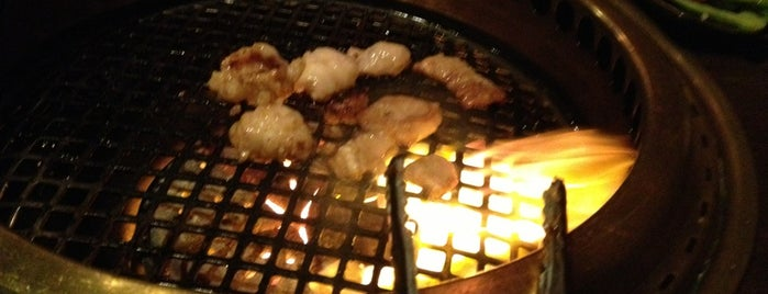 Gyu-Kaku Japanese BBQ is one of Boston's Best Foods.