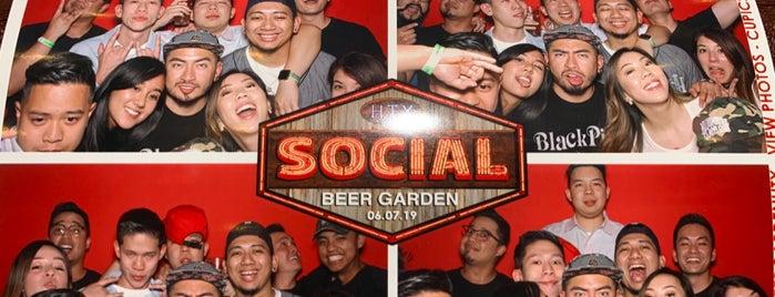 HTX Social Beer Garden is one of Bobby 님이 좋아한 장소.