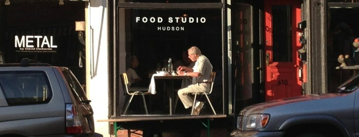Hudson Food Studio is one of NY Upstate.