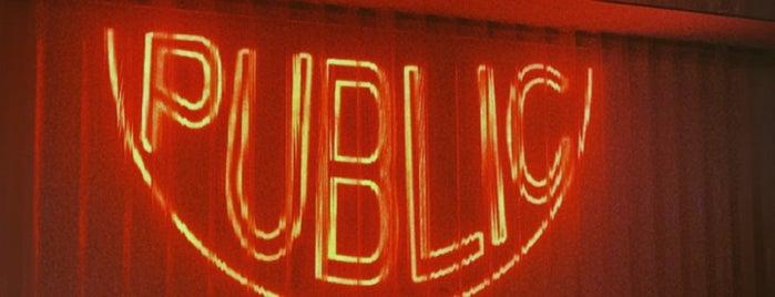 Public is one of Bucket list.