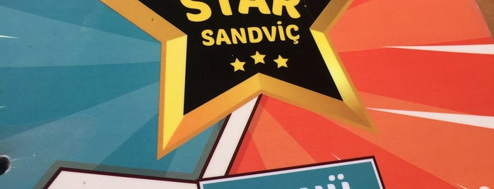 Star Sandviç is one of Aylin'in Beğendiği Mekanlar.