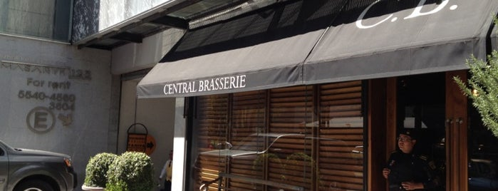 Central Brasserie is one of MEX DF.