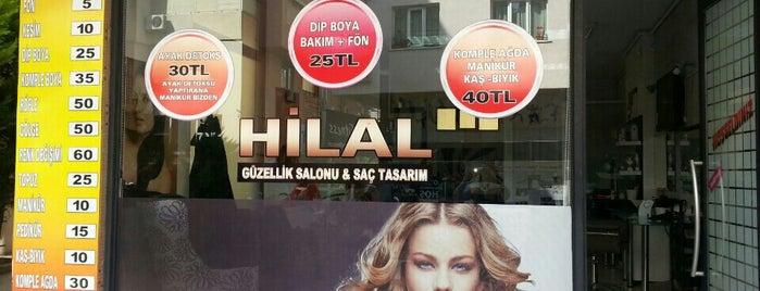 Hilal Güzellik Salonu Ve Saç Tasarım is one of Mehtapさんの保存済みスポット.