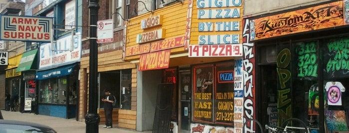 Gigio's Pizzeria is one of Lugares guardados de Julie.