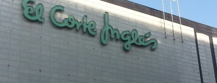El Corte Inglés is one of Séville.