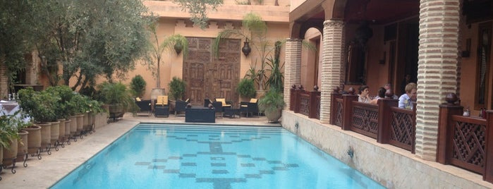 Maison Arabe is one of Marrakech must visits.