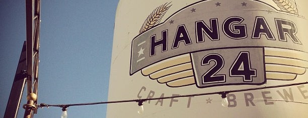 Hangar 24 Craft Brewery is one of Beer / RateBeer's Top 100 Brewers [2015].