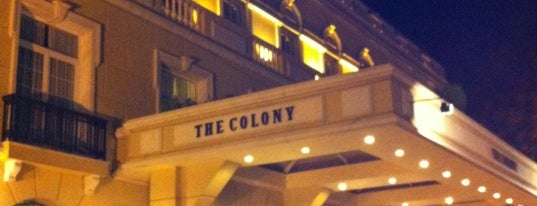 The Colony Hotel is one of Locais curtidos por Bahadir.