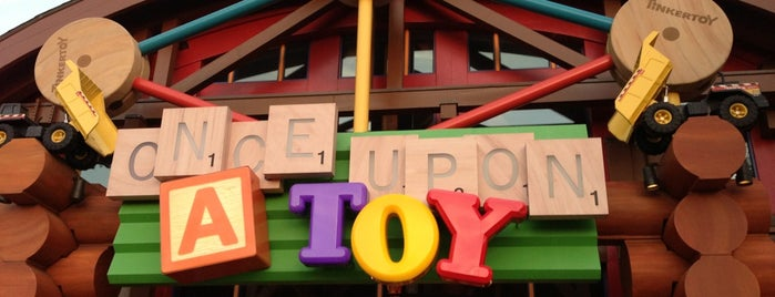 Once Upon A Toy is one of Disney Springs.