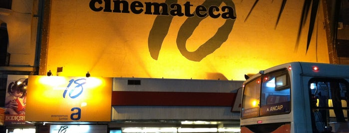 Cinemateca 18 is one of Modernas de Montevideo.