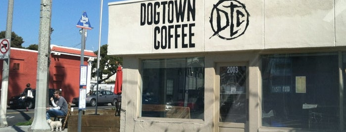 Dogtown Coffee is one of LA family trip.