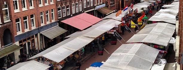 Albert Cuyp Markt is one of Amsterdam, NL Spots.