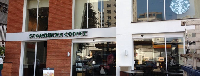 Starbucks is one of Café da Manhã.