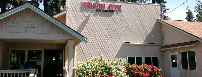 Saigon City is one of Bellevue eats.