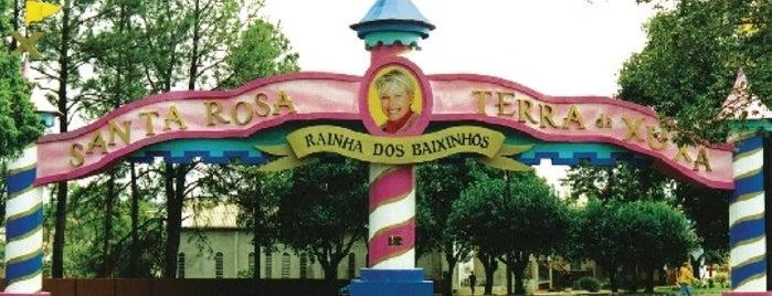 Santa Rosa is one of Cidades do Rio Grande do Sul.