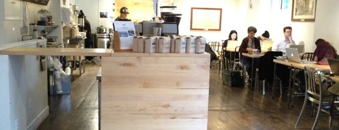 Pushcart Coffee is one of NY coffee places to try.